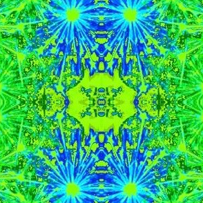 Fireworks-green