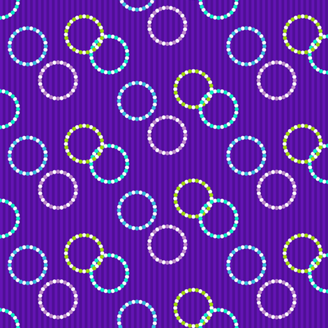 Kolonaki Rings - Evening fabric by siya on Spoonflower - custom fabric