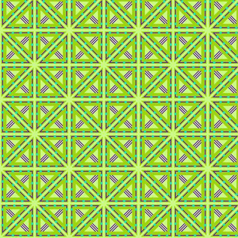 Kolonaki Triangles - Evening fabric by siya on Spoonflower - custom fabric