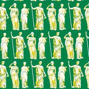 Kolonaki Goddess - Green