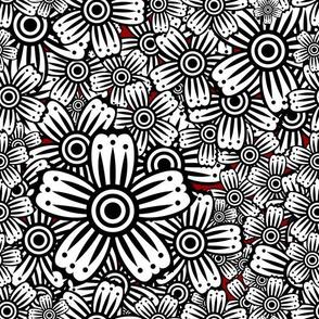 Hypnotic Floral