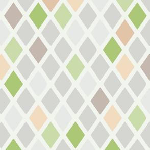 harlequin green