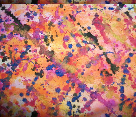 Fireworks fabric by dantiera-designs on Spoonflower - custom fabric