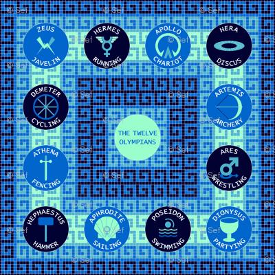 12 olympians : arctic blues