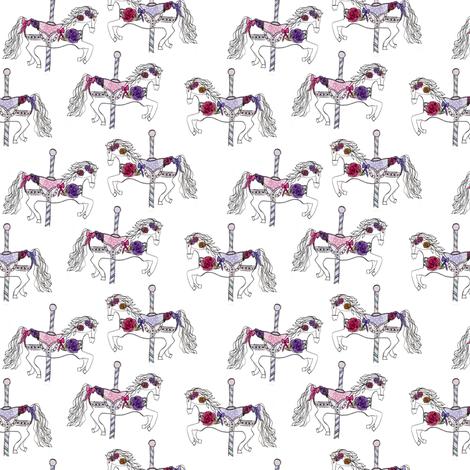 carousels fabric by abbyg on Spoonflower - custom fabric