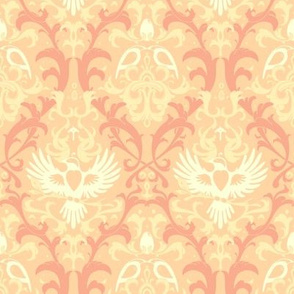 Bird Damask variation 3