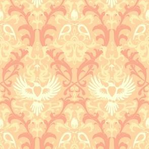 Bird Damask variation 3