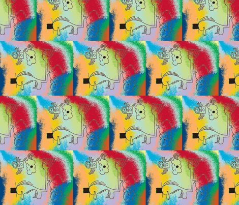 image-ch fabric by bunnygrl on Spoonflower - custom fabric