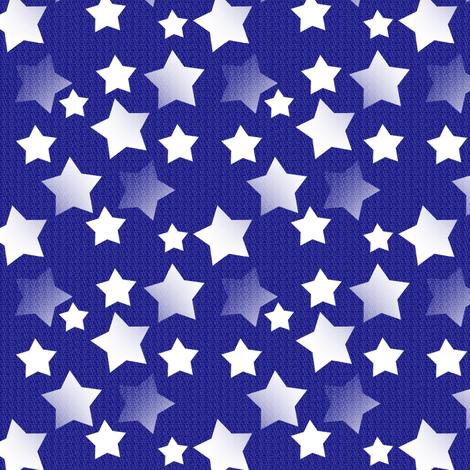 Star Night, Star Bright - Midnight fabric by telden on Spoonflower - custom fabric