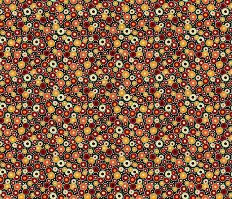 Ghanaian Blooms - seeds fabric by jennartdesigns on Spoonflower - custom fabric