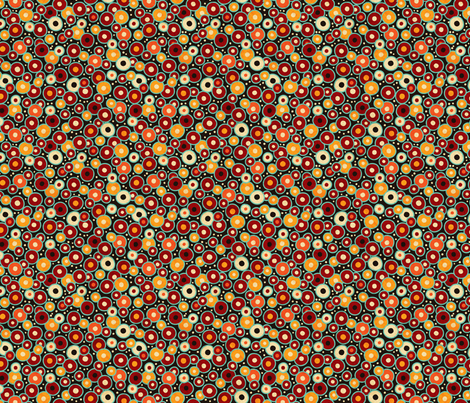 Ghanaian Blooms - seeds fabric by jennartdesigns on Spoonflower - custom fabric
