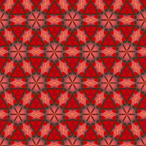 Reverberations_coordinate1 fabric by fireflower on Spoonflower - custom fabric