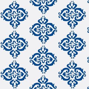 Seraphina- White and Blue