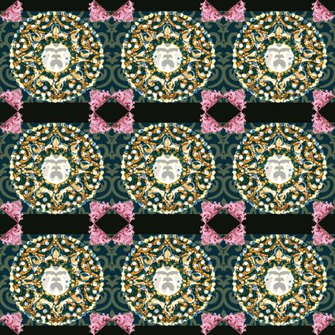 rococo fabric by anna_hernandez on Spoonflower - custom fabric