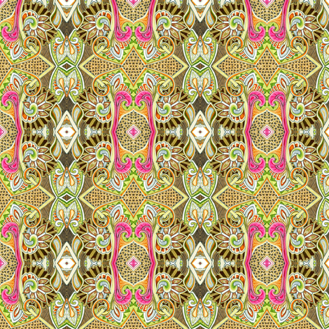 If Old Lace Could Talk (a Victorian inspired vertical stripe) fabric by edsel2084 on Spoonflower - custom fabric