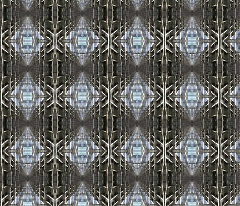 Under the Bridge Medium fabric by mikep on Spoonflower - custom fabric