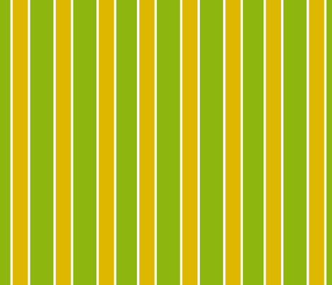"""Lazy Hazy Crazy Daisy"" Stripes fabric by jeanfogelberg on Spoonflower - custom fabric"