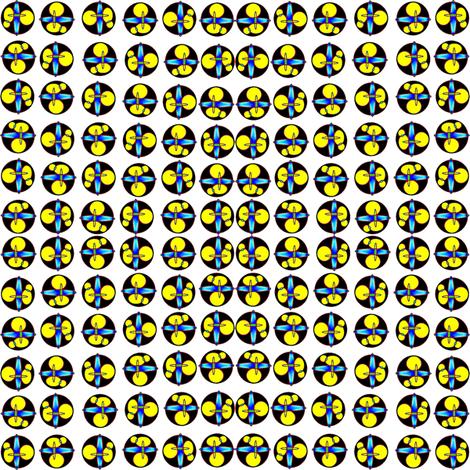 Molecules fabric by ravynscache on Spoonflower - custom fabric