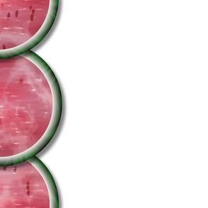 Watermelon Mania - Single Melon - Border