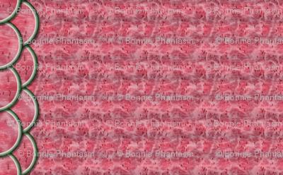Watermelon Mania - Double Melon - Pink Flesh - Border