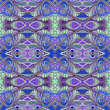 A Windy Day on the Paisley Farm fabric by edsel2084 on Spoonflower - custom fabric