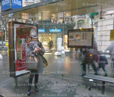 Waiting for a Taxi, Paris
