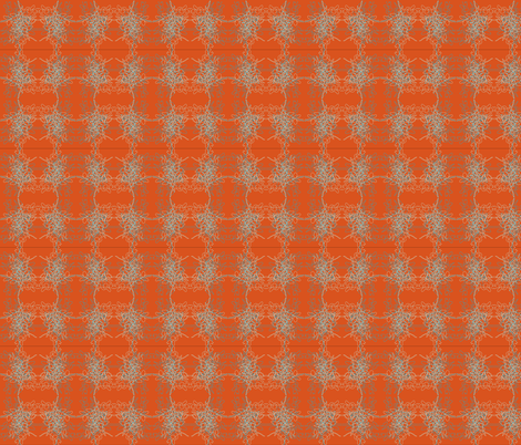Orange Plant fabric by kelsey_joronen on Spoonflower - custom fabric