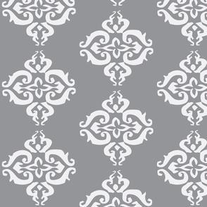 Seraphina Grey and White