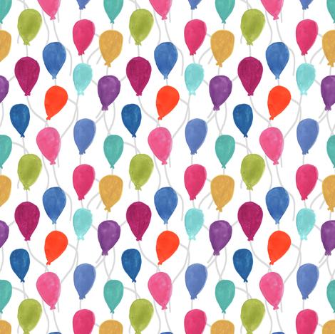 Balloons fabric by abbyg on Spoonflower - custom fabric