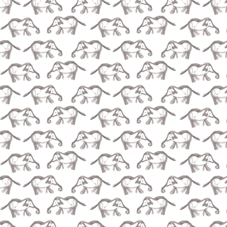 Elephants fabric by abbyg on Spoonflower - custom fabric