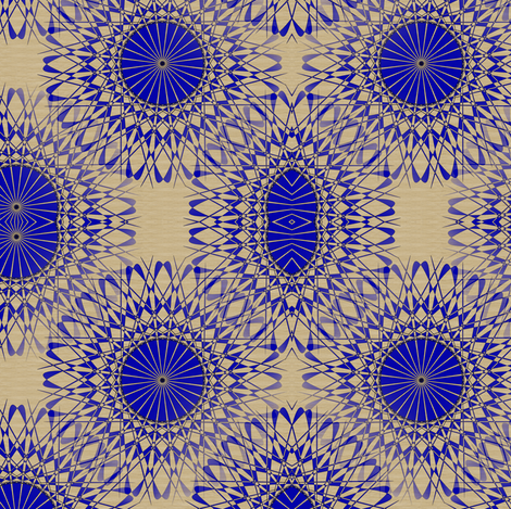 Fancio - Violet and Bronze fabric by telden on Spoonflower - custom fabric