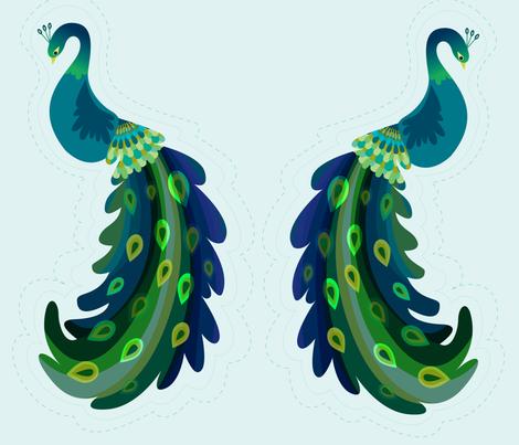 Sweet Pea fabric by spicysteweddemon on Spoonflower - custom fabric