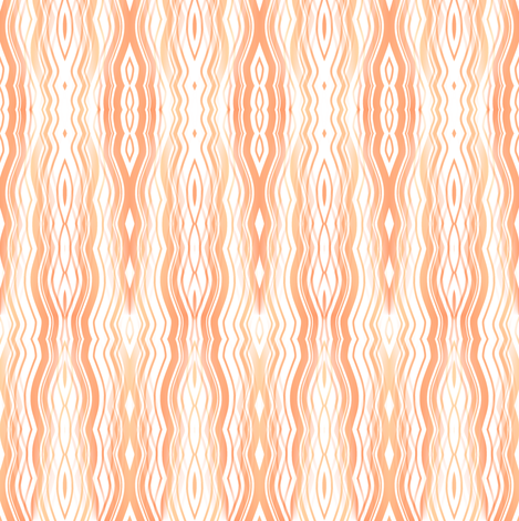 Drip Falls - Peach Yellow fabric by telden on Spoonflower - custom fabric