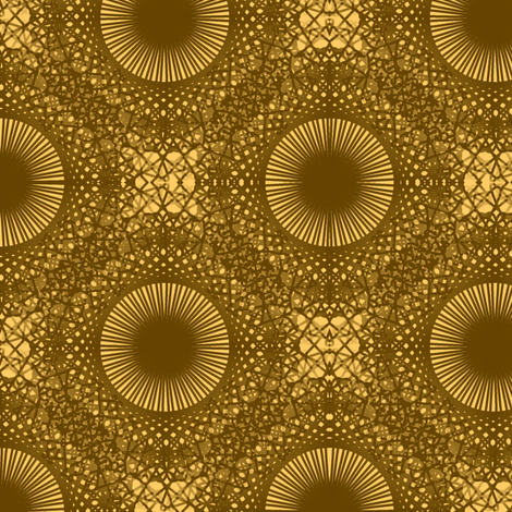 Helios Suns - Brown Reverse fabric by telden on Spoonflower - custom fabric