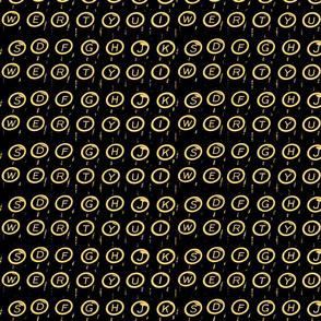(Q)WERTY Gold