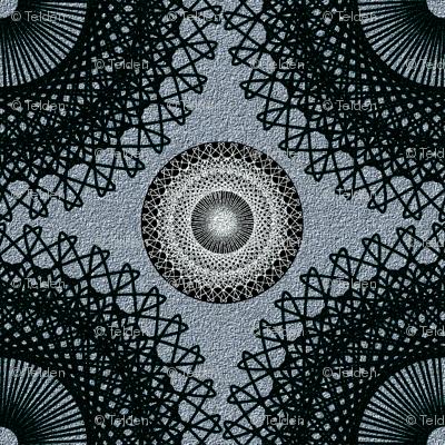 Ornate Circles - Dark Neutral