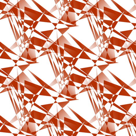 Glasscut - Rust fabric by telden on Spoonflower - custom fabric