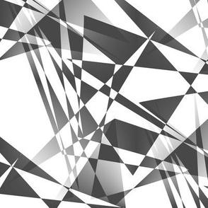 Glasscut - Gray and White