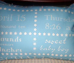 Baby's Birth Pillow