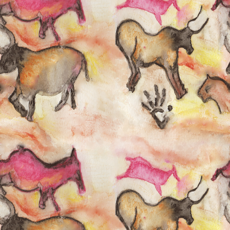 caveart fabric by jexico on Spoonflower - custom fabric