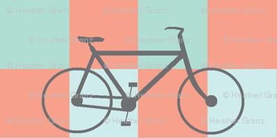 Coral Mint Bike