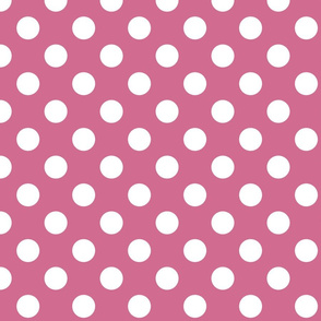 white-polka-dots-on-pink