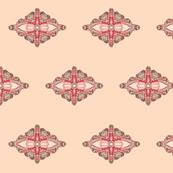 stitched motif