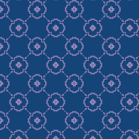 monaco violet fabric by kerryn on Spoonflower - custom fabric