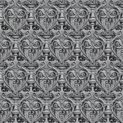 Gorey Relief fabric by amyvail on Spoonflower - custom fabric