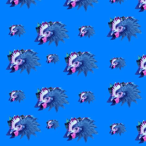 MaudeStar Blue fabric by taztige on Spoonflower - custom fabric
