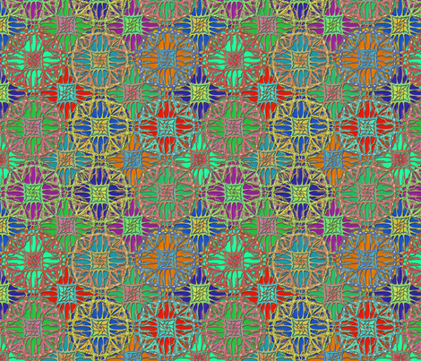 patchwork gypsy fabric by glimmericks on Spoonflower - custom fabric