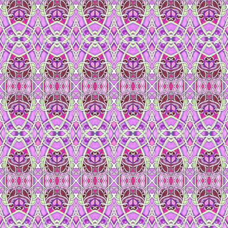 Staring Up at the Cathedral fabric by edsel2084 on Spoonflower - custom fabric