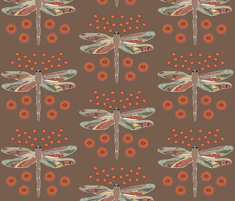 Dragonflies fabric by milkshakecrafts*lisa on Spoonflower - custom fabric