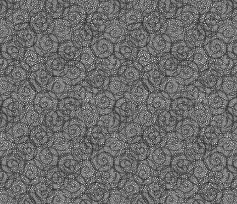 gypsy_swirls_gray fabric by glimmericks on Spoonflower - custom fabric